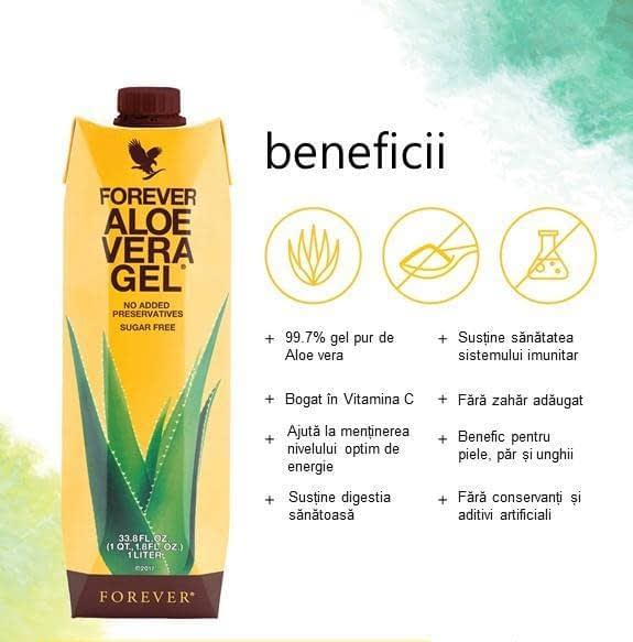 aloe vera gel forever living products romania. BAUTURILE FOREVER