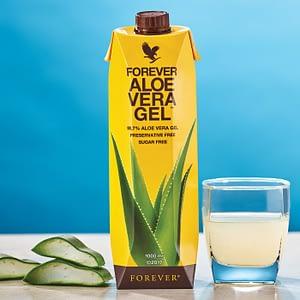 Forever Aloe Vera Gel in pahar